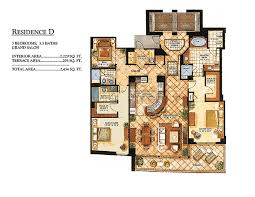 Old Key West Floor Plan One Bal Harbour Premier International Properties