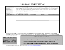 10 best images of smart goal template word smart goals template
