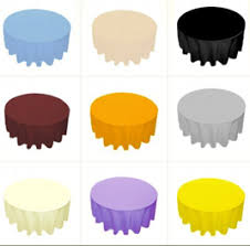 Round Table Discount Table Linens