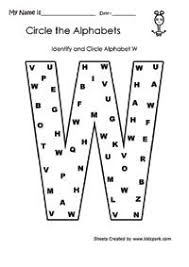 circle and identify alphabets worksheets teachers printables