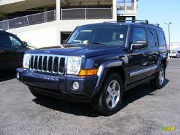 commander jeep 2010 modern blue pearl jeep commander sport 4x4 36963624
