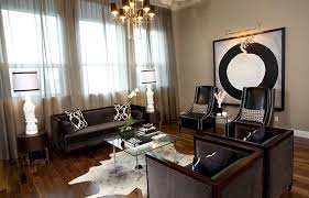 sheer curtain ideas living room contemporary with area rug black