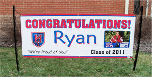 graduation sign graduation banners waterford signs