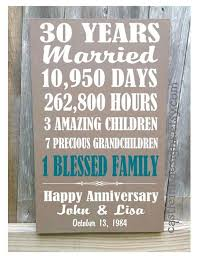 30 year anniversary gift ideas 30th 40th 50th anniversary gift by castleinndesigns on etsy lovely