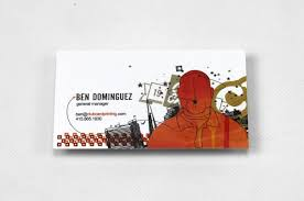 Business Cards With Foil Small Size Mini Skinny And Custom Size Cards Printed On Thick