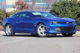 blue chevrolet camaro 2017 hyper blue metallic 2dr cpe 1ls chevrolet camaro hyper blue