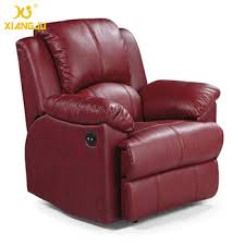 real leather electric home recliner cinema chair comfortable
