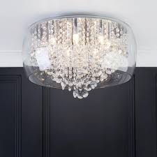 marquis by waterford nore led large encased flush bathroom
