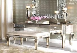 Vanity Light Bar Ikea by Modern Vanity Tables Hayworth Mirror Set Silver Mirrored Vanities