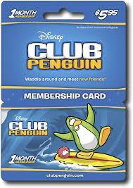 club penguin gift card customer reviews disney interactive studios club penguin 5 95