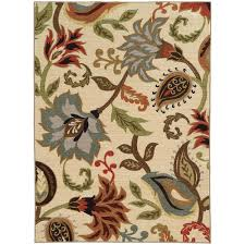 area rugs home decorators home decorators collection townsend tan 5 ft 3 in x 7 ft 3 in