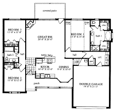 plan42 country style house plan 3 beds 2 baths 1712 sq ft plan 42 484