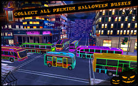 city halloween halloween bus city simulator android apps on google play