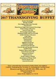 thanksgiving day buffet sunset grille and bar outer banks