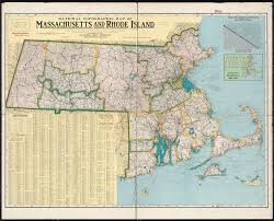 Massachusetts Counties Map by National Topographic Map Of Massachusetts And Rhode Island