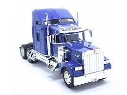 kenworth tractor trailer welly 1 32 kenworth w900 semi tractor trailer diecast truck violet