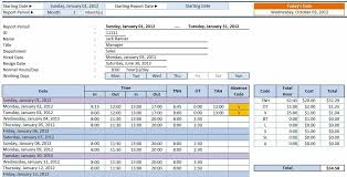 how to make a timesheet in excel employee weekly how to make a with pictures wikihow how make