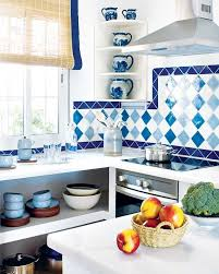 Decorating With Tiles Best 25 Blue Kitchen Tiles Ideas On Pinterest Blue Subway Tile
