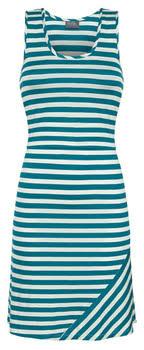 milk nursing wear striped nursing tank dress in teal milk nursingwear