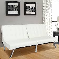 white leather futon sofa sofa bed fresh convertible futon sofa bed and lounger high