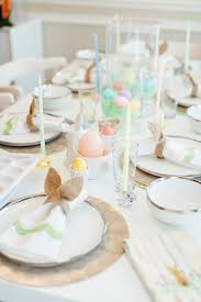 the best easter table decorations walking in in high heels