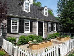 Front House Landscaping by Exterior Alluring Front Yard Landscaping Ideas With White Picket