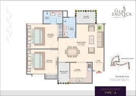 2 bhk house plan 2 bhk house plan layout inspirations abl palm exotica bhiwadi sector