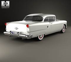 oldsmobile 88 super holiday coupe 1954 3d model hum3d