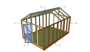 Shed Greenhouse Plans Wood Greenhouse Plans Myoutdoorplans Free Woodworking Plans