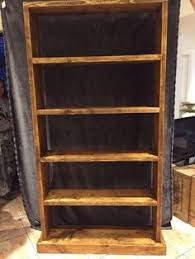 Ebay Bookcases Rustic Bookcase Hand Made From Reclaimed Scaffold Boards To Your