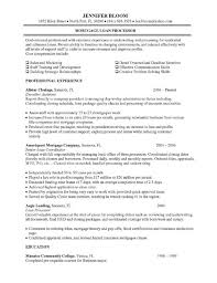 stunning mortgage loan processor resume sample pictures simple