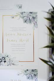 succulent wedding invitations the bridal boutique succulent wedding invitation suite the