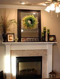 rustic fireplace mantel u2014 decor trends rustic decorating