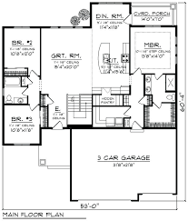 house plans single story 3 garage house plans single story house plans with 3 car garage