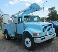 1995 international 4700 bucket truck item d5318 sold tu