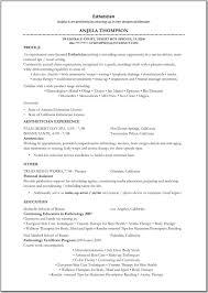 esthetician resume exles sle esthetician resume colomb christopherbathum co