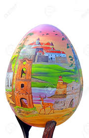 large easter eggs painted egg festival of large easter eggs on sofievskaya