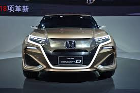 honda suv 2016 honda avancier suv debuts as china u0027s best honda autotribute