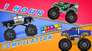 Most Popular Monster Truck Videos For Kids Vehicles Collection