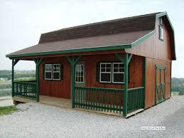 Mini Barns Michigan Hi Loft Porch Barns Miller Storage Barns