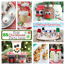Christmas Party For Kids Ideas - 25 kids christmas party ideas u2013 fun squared