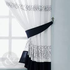 Foxy Damask Curtains Next Modern Black And White Kitchen Curtains Ideas Including Curtain Pictures