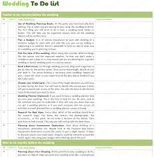 List Template Wedding To Do List Template By Month Wedding Guest List Template