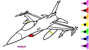 fighter jet toys coloring pages for kids u0026 dinosaur shark drawing