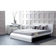 Roma Modern Platform Bed - Houston modern furniture