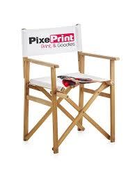 chaise personnalis e de réalisateur personnalisée