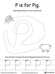 free worksheets writing the letter p free math worksheets for
