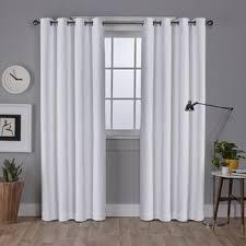 Grommet Blackout Drapes Modern Curtains Drapes Allmodern