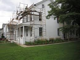 House Of Corbels Restoration Progress Corbels Up The John Updike Childhood Home
