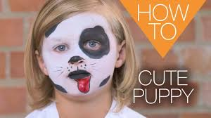 Cute Halloween Makeup Tutorial by Cute Puppy Halloween How To Makeup Tutorial Youtube